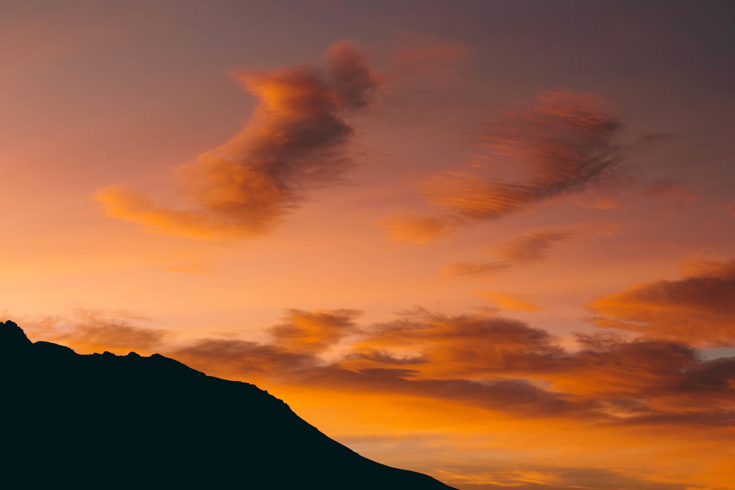 Sunrise at Mt Cook