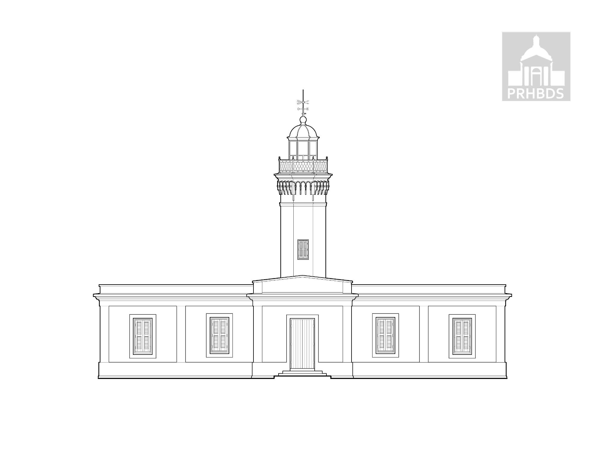 Faro Punta Borinquen - Punta Borinquen Lighthouse   Aguadilla, Puerto Rico    Designed by Enrique Gadea (1889)
