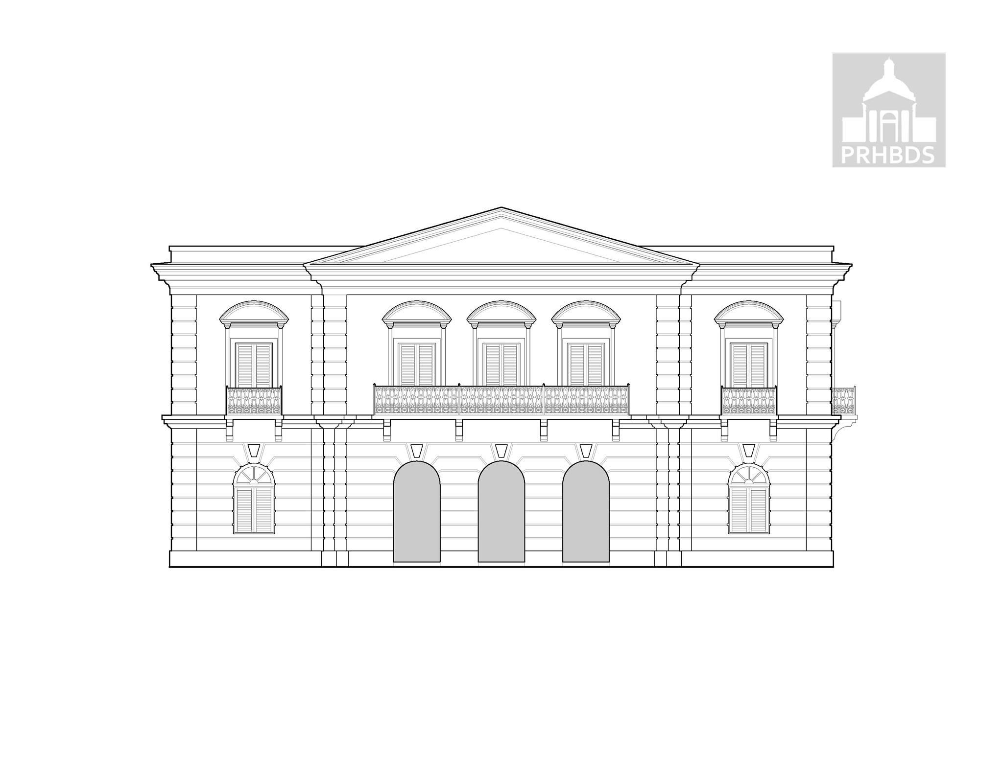 Casa Alcaldía (1866)   Avenida José De Diego   Arecibo, Puerto Rico