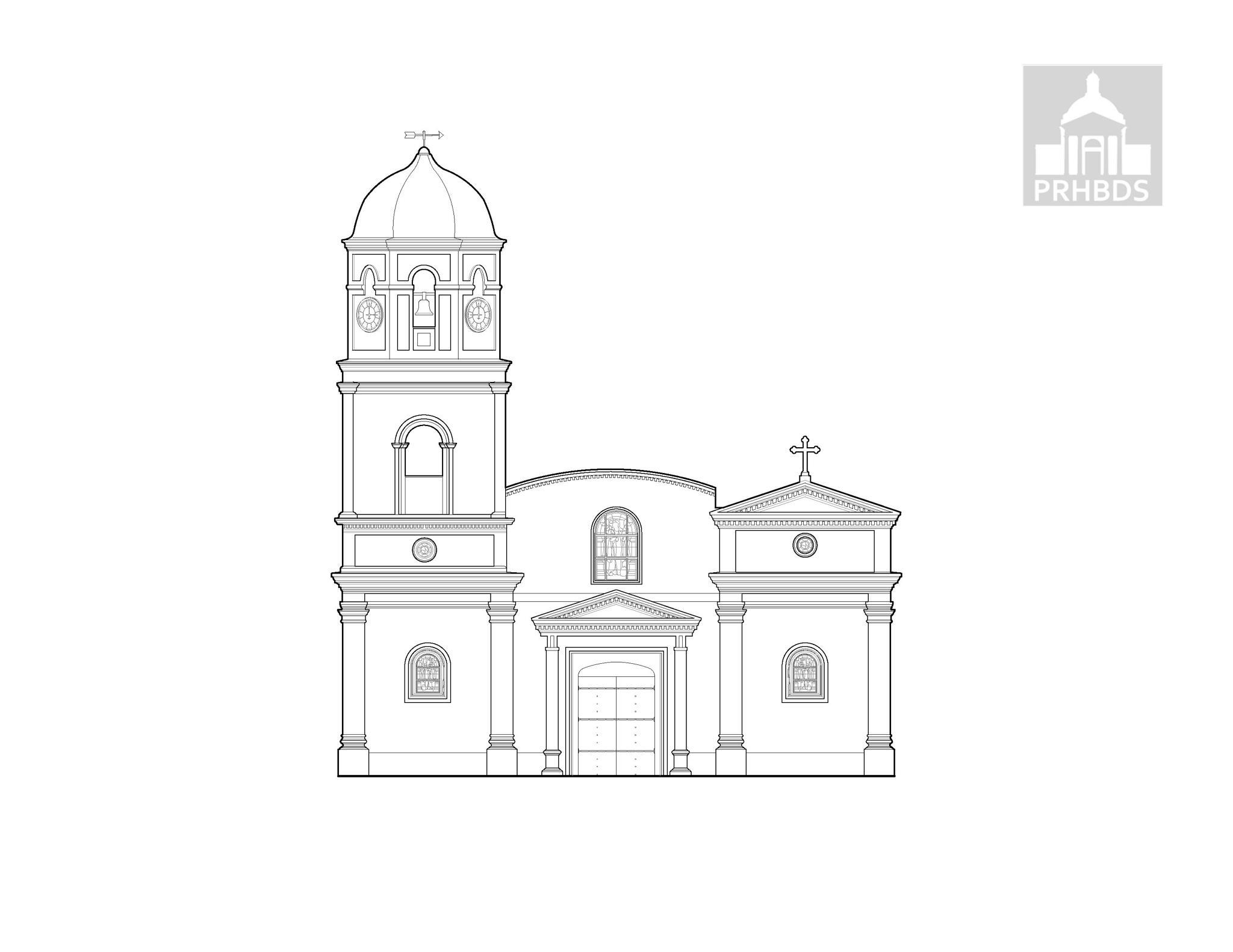 Parroquia San Miguel Arcángel (1771-1783)   Cabo Rojo, Puerto Rico    Fachada actual diseñada por: Onofre Llompart (1878)    La estructura donde ubica la Iglesia San Miguel Arcángel fue designado Monumento Histórico bajo la Ley Núm. 150 del 18 de Junio de 2004. Está ubicada en las calles Barbosa (entrada principal) Riuz Belvis (costado izquierdo) y Luis Muñoz Rivera (parte posterior). La estructura que acoge a la Iglesia San Miguel Arcángel del Municipio de Cabo Rojo es una de las más hermosas de todo Puerto Rico. Su historia está ligada a la fundación de Cabo Rojo mediante Orden Real del rey Carlos III de 17 diciembre de 1771.  Sin embargo, no fue hasta el 29 de septiembre de 1783, que se dedica la parroquia al patrono de San Miguel Arcángel y dos años después que comenzó a construirse el templo. En la iglesia se encuentran las actas de nacimiento de Ramón Emeterio Betances, Salvador Brau y el legendario Pirata Cofresí. Frente a la entrada principal Betances cumplió su apostolado dando libertad a los niños esclavos cuando eran traídos a la pila bautismal. Su precio sin bautizar era de 25 pesos y una vez bautizados costaban 50 pesos. En su Bicentenario se sembró un árbol de Guayacán al costado de la Plaza de Recreo.