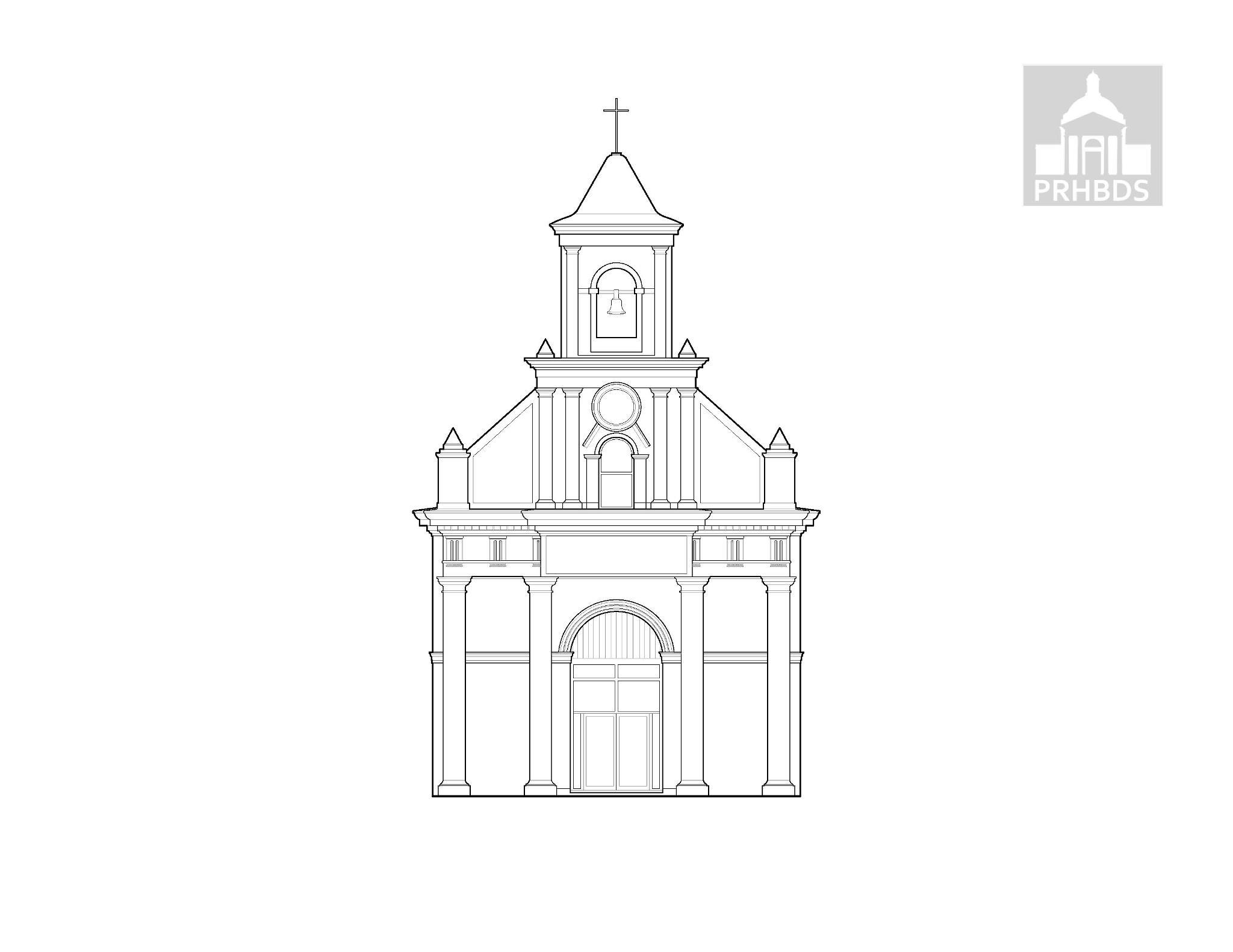 Parroquia San Fernando   Carolina, Puerto Rico    Diseñada por: Antonio María Guitían (1870)