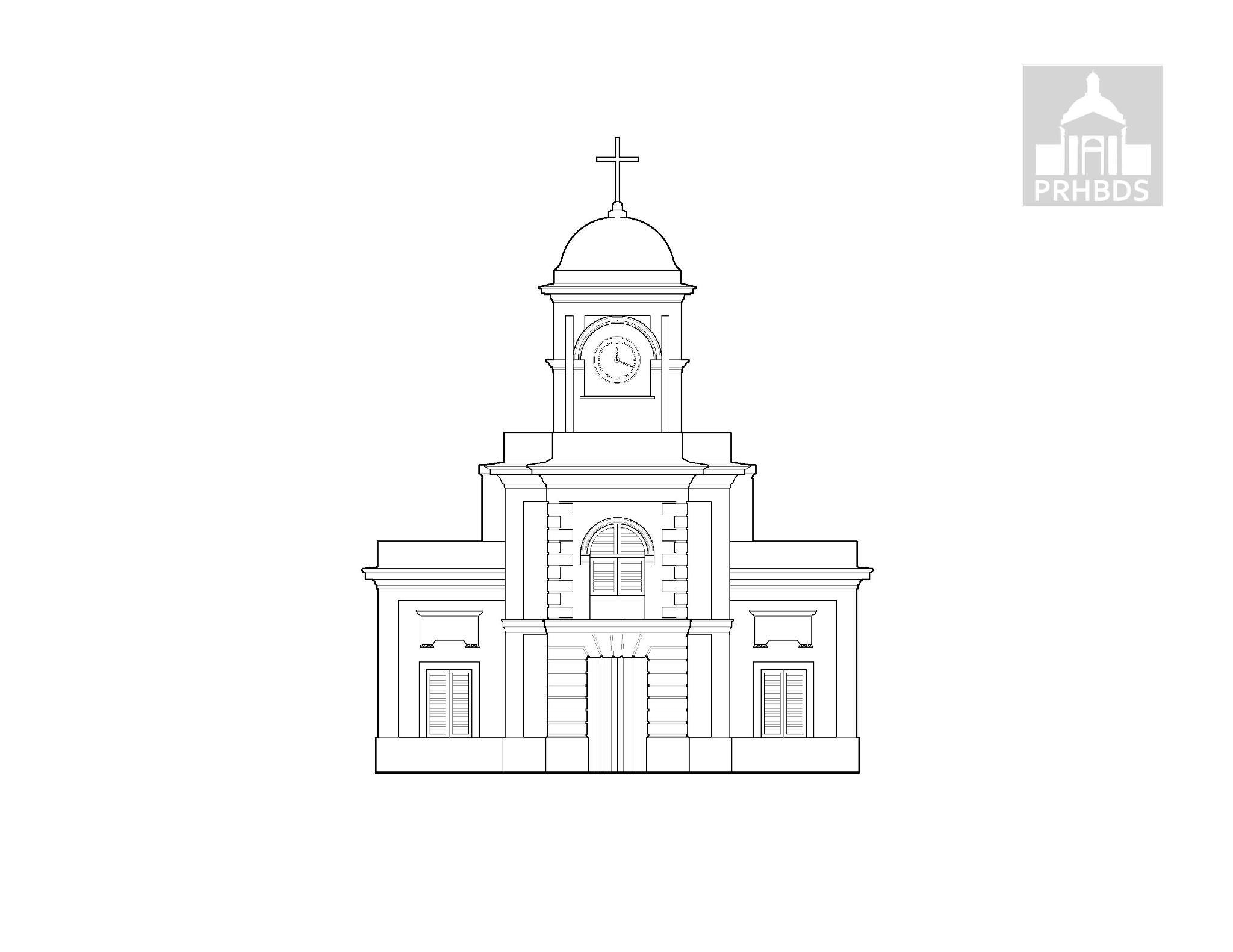 Parroquia Santiago Apóstol – 1869   (Concatedral de la Diócesis de Fajardo-Humacao)   Fajardo, Puerto Rico     Esta iglesia esta certificada por la Ciudad del Vaticano y por el Papa como una catedral al albergar en ella al obispo Eusebio Ramos Morales. Esta catedral se encuentra en la plaza pública.
