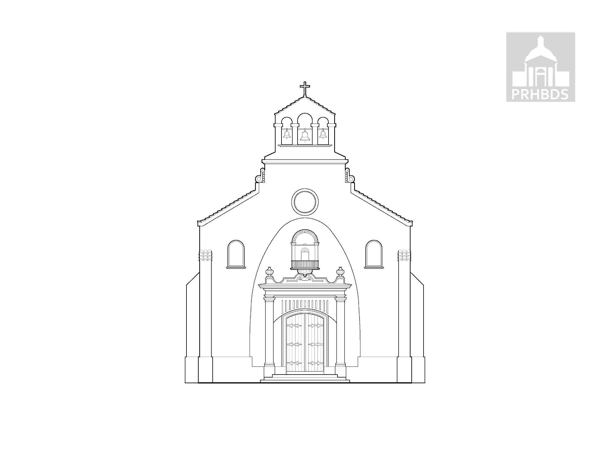 Parroquia Nuestra Señora de la Monserrate (1930)   Jayuya, Puerto Rico    Diseñada por: Francisco Porrata Doria