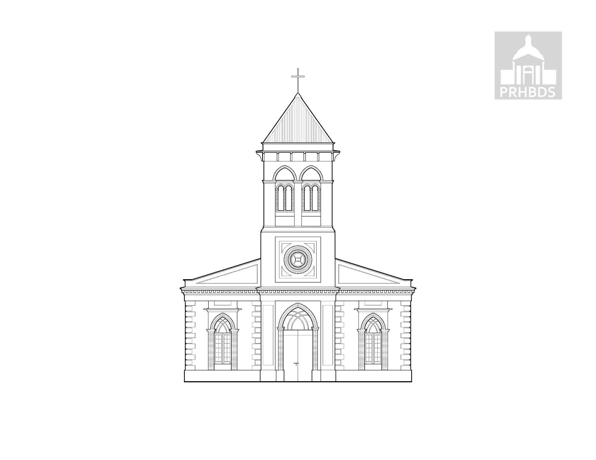 Parroquia San Juan Bautista (1890-1898)   Maricao, Puerto Rico    Diseñada por Jerónimo Jiménez Coronado