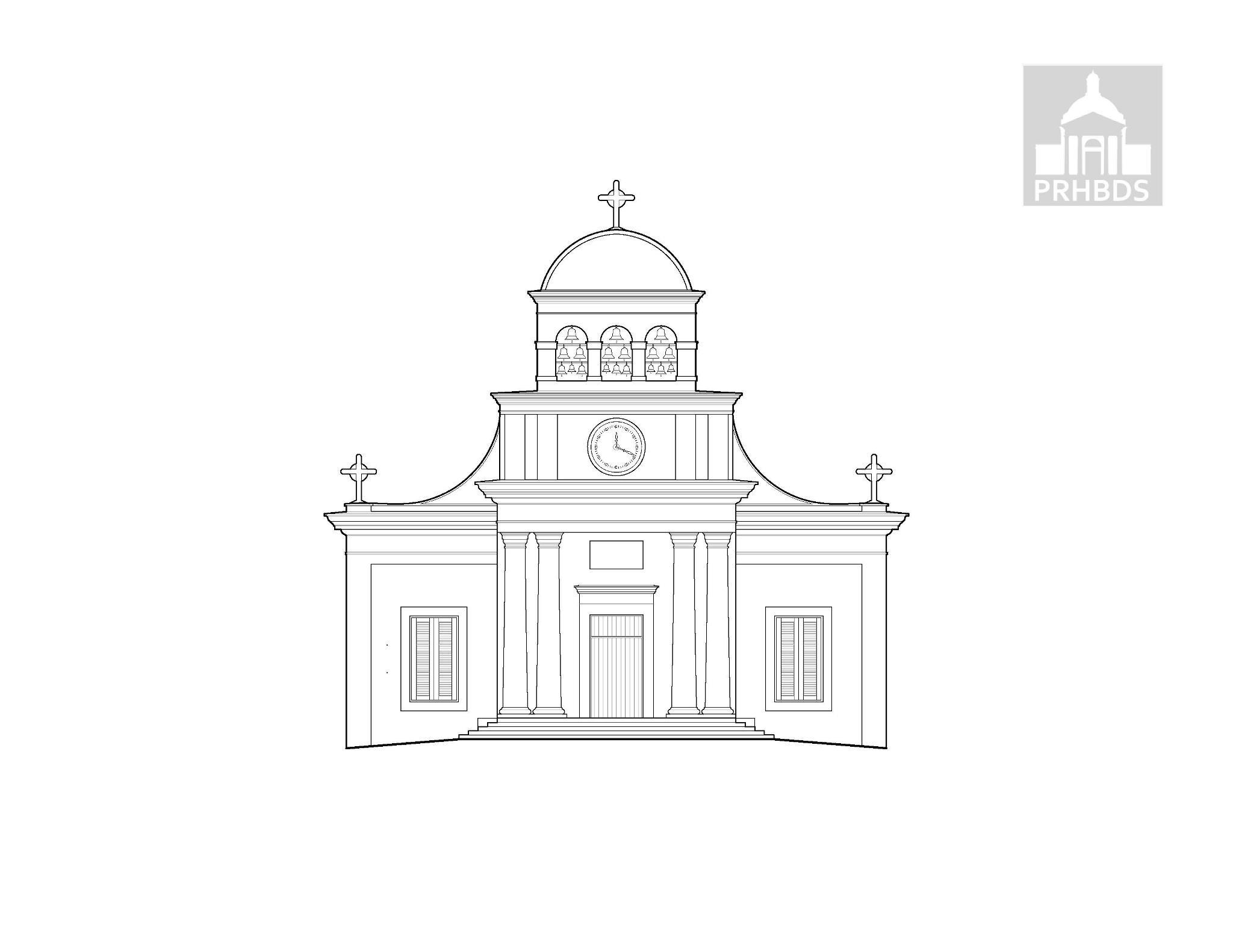 Parroquia Nuestra Señora de la Monserrate (1841- 1851)   Moca, Puerto Rico