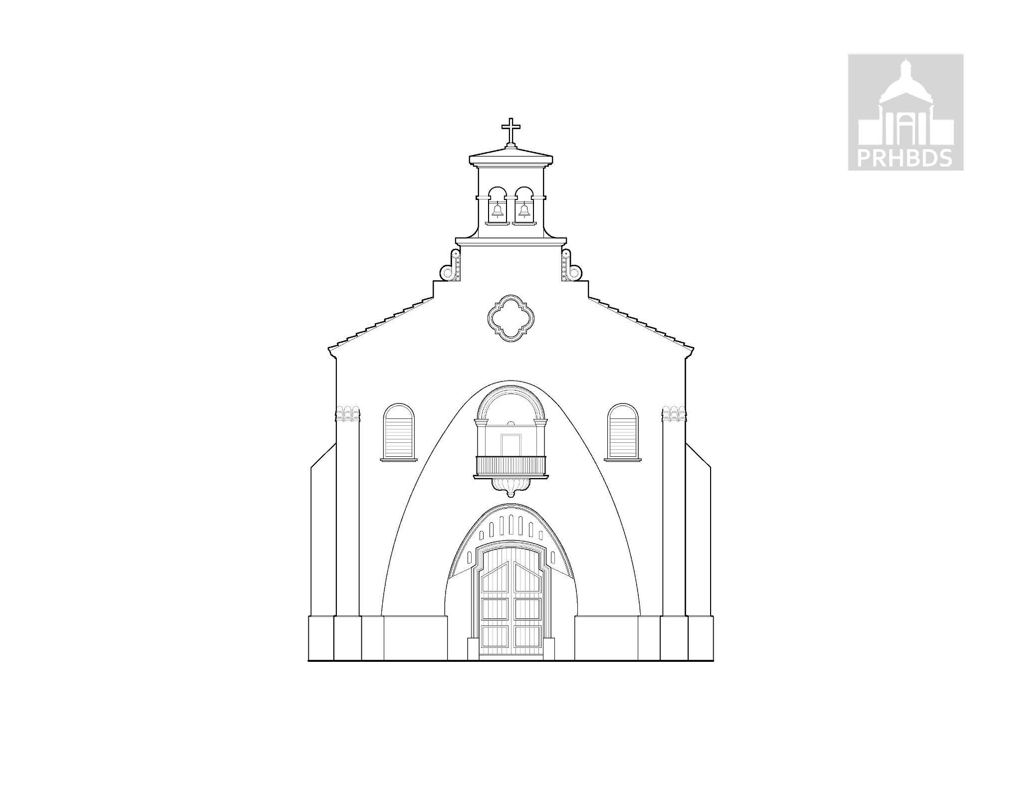 Parroquia San José (1930)   Peñuelas, Puerto Rico    Diseñada por Francisco Luis Porrata-Doria