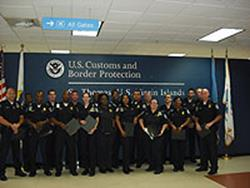 US Virgin Islands CBP Employees