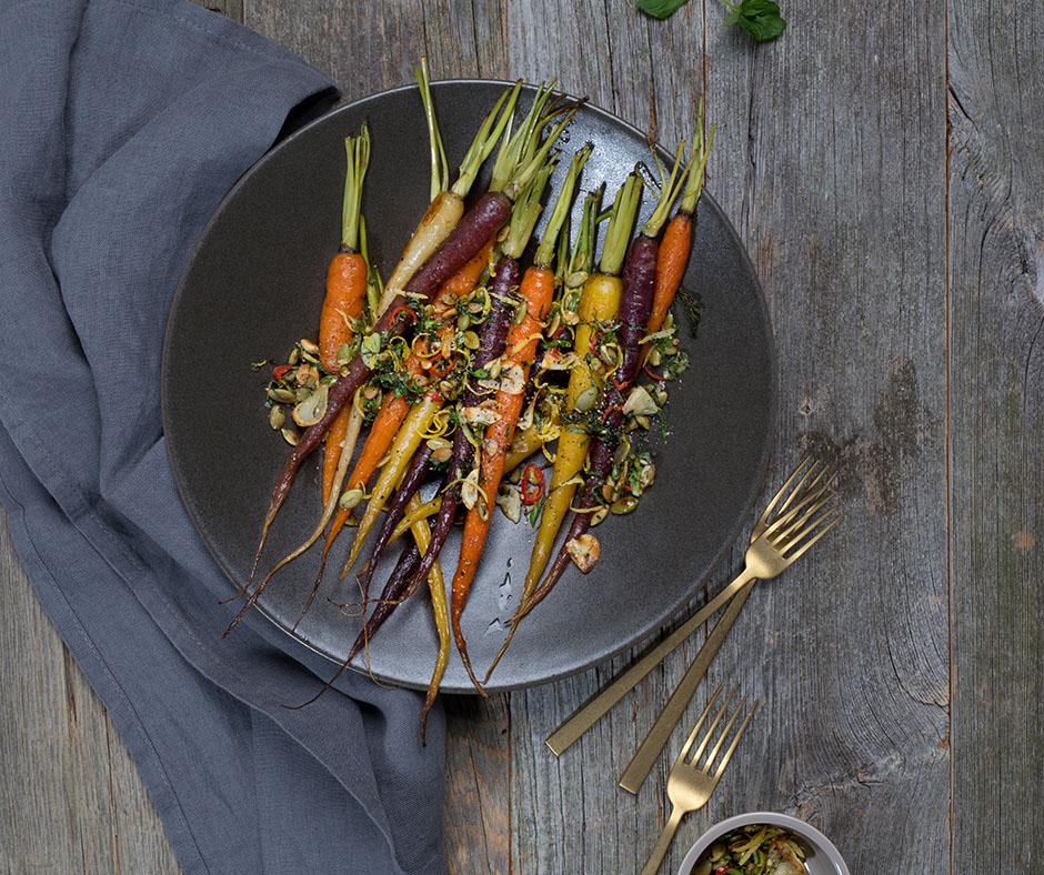 Herbed Carrots - https://clearlifeinc.com/gremolata-carrots/