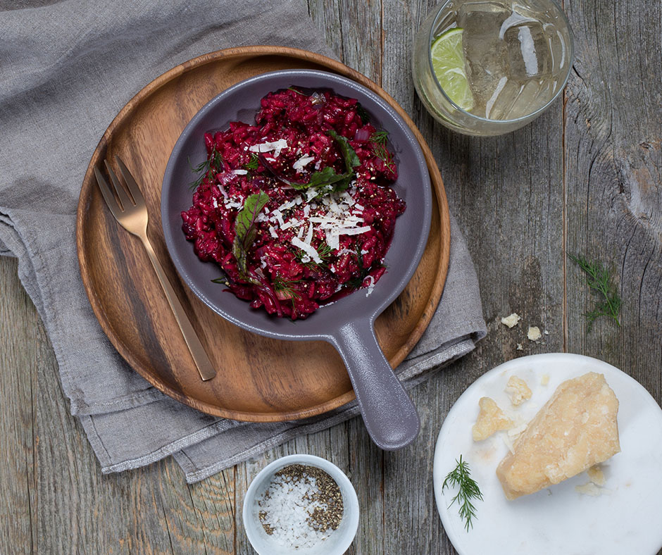 Beet Risotto - https://clearlifeinc.com/beet-risotto/
