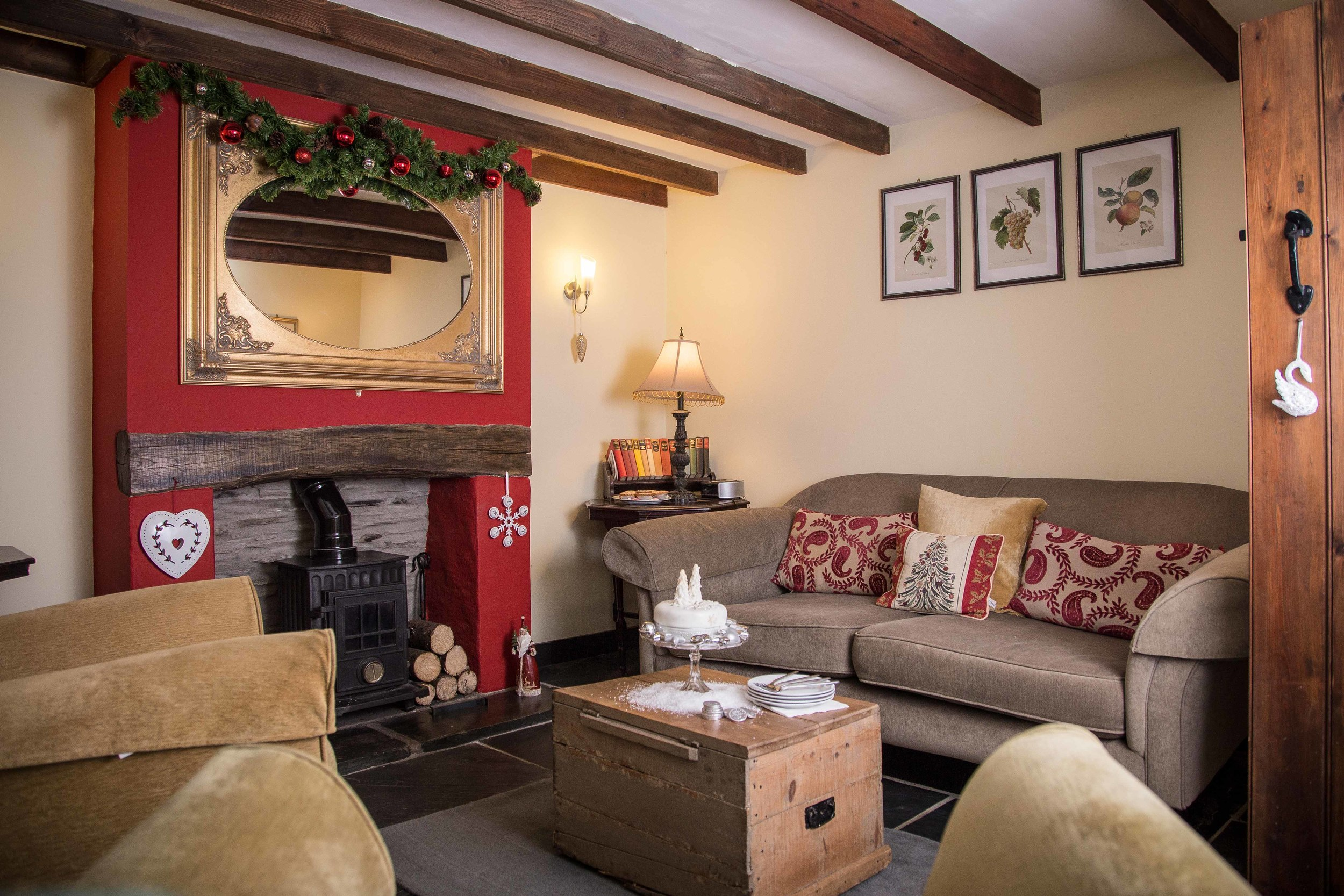 Cosy Christmas & New Year getaways