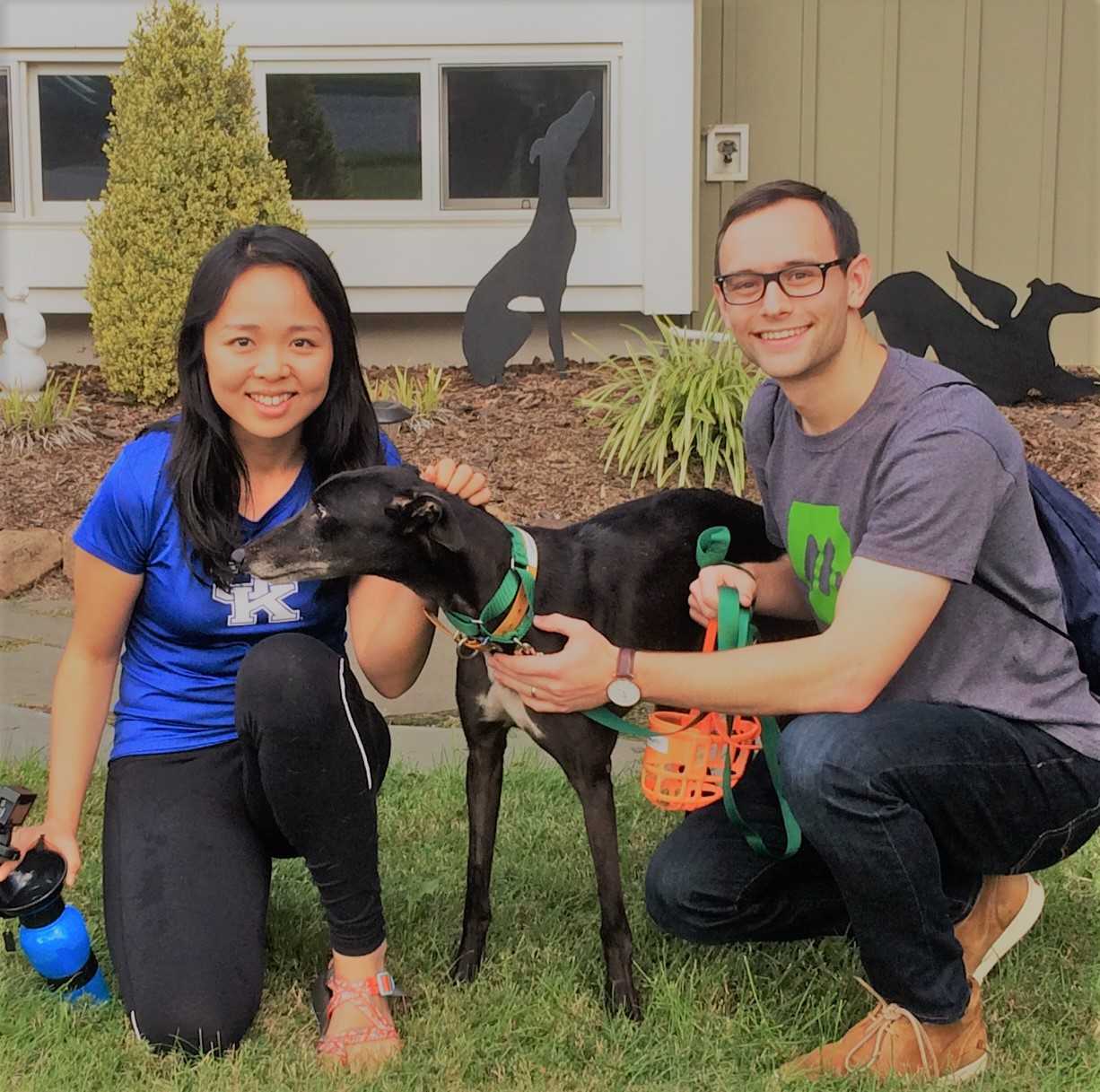 Trevor and Zinan adopted a special girl, Lauren Simonetti now called Sally. They have already discovered how sweet and loving she is and are excited to finally have her at home.