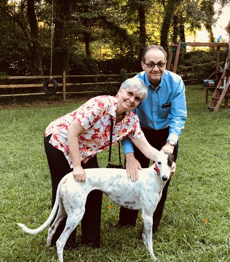 """Annette and Julian welcomed """"Kali"""" (kal-Lee) into their hearts and home.We are so happy for all of you!She is such a sweet girl! Congratulations to Annette, Julian, and Kali."""