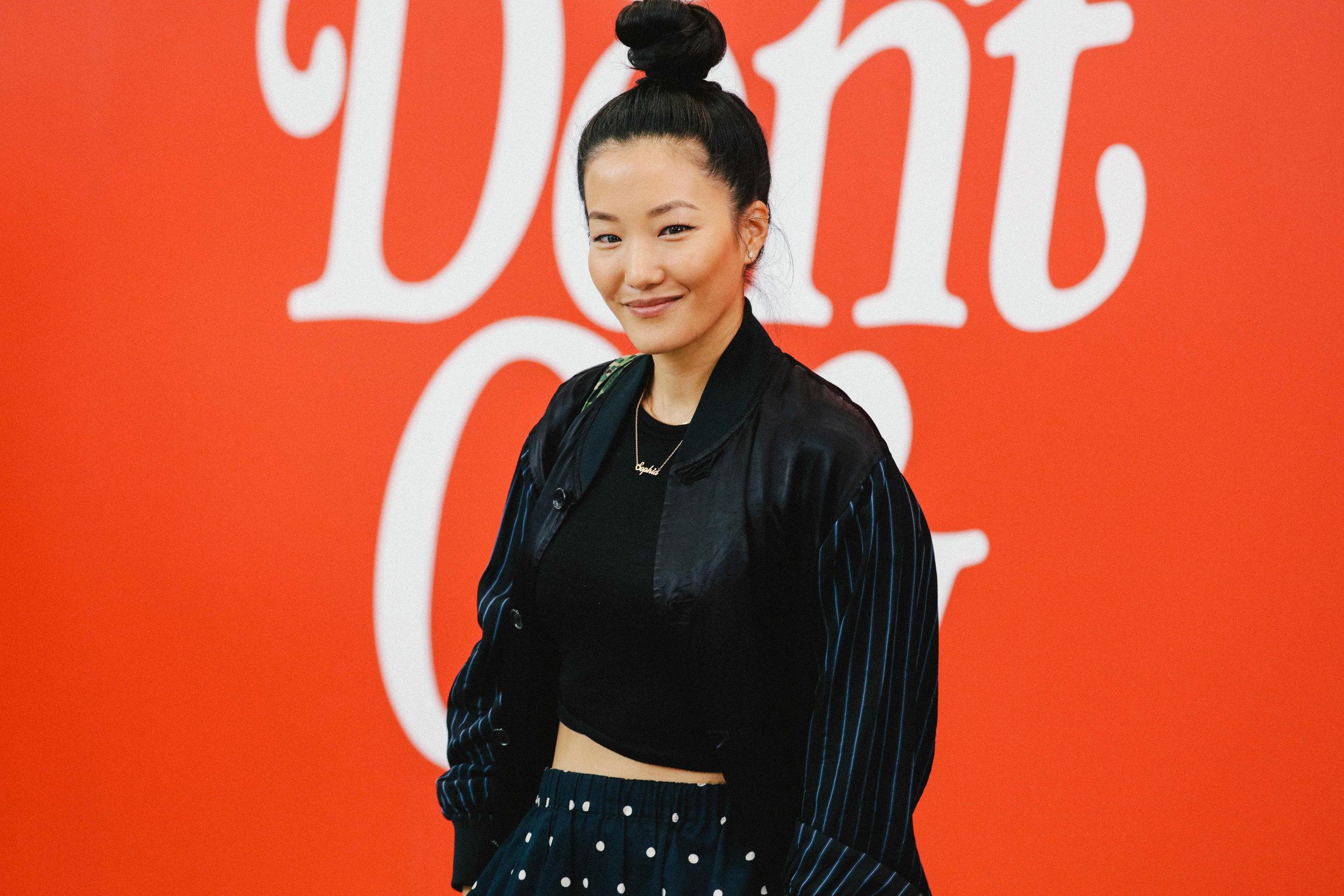 Designer Sophia Chang