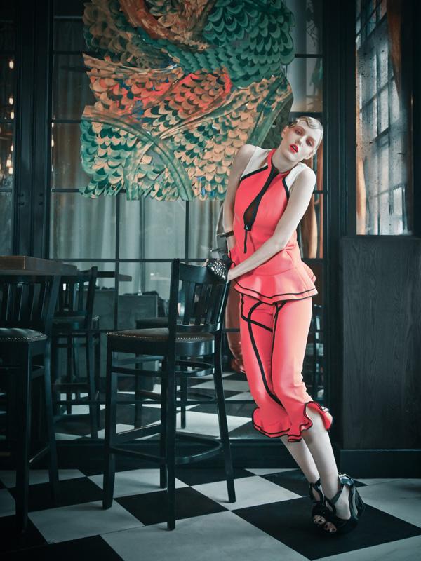 The Lady Is a Vamp for Hong Kong Tatler