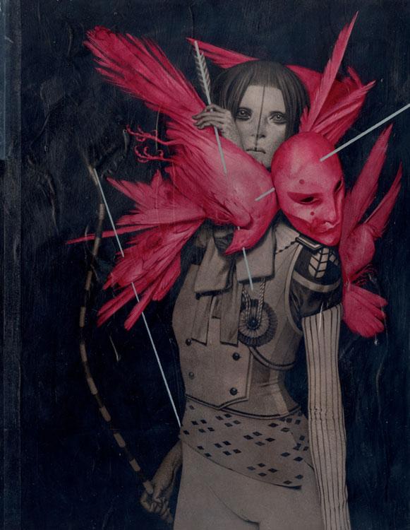 Kyudo Acrylic on Board 30,3 x 39,5 cm