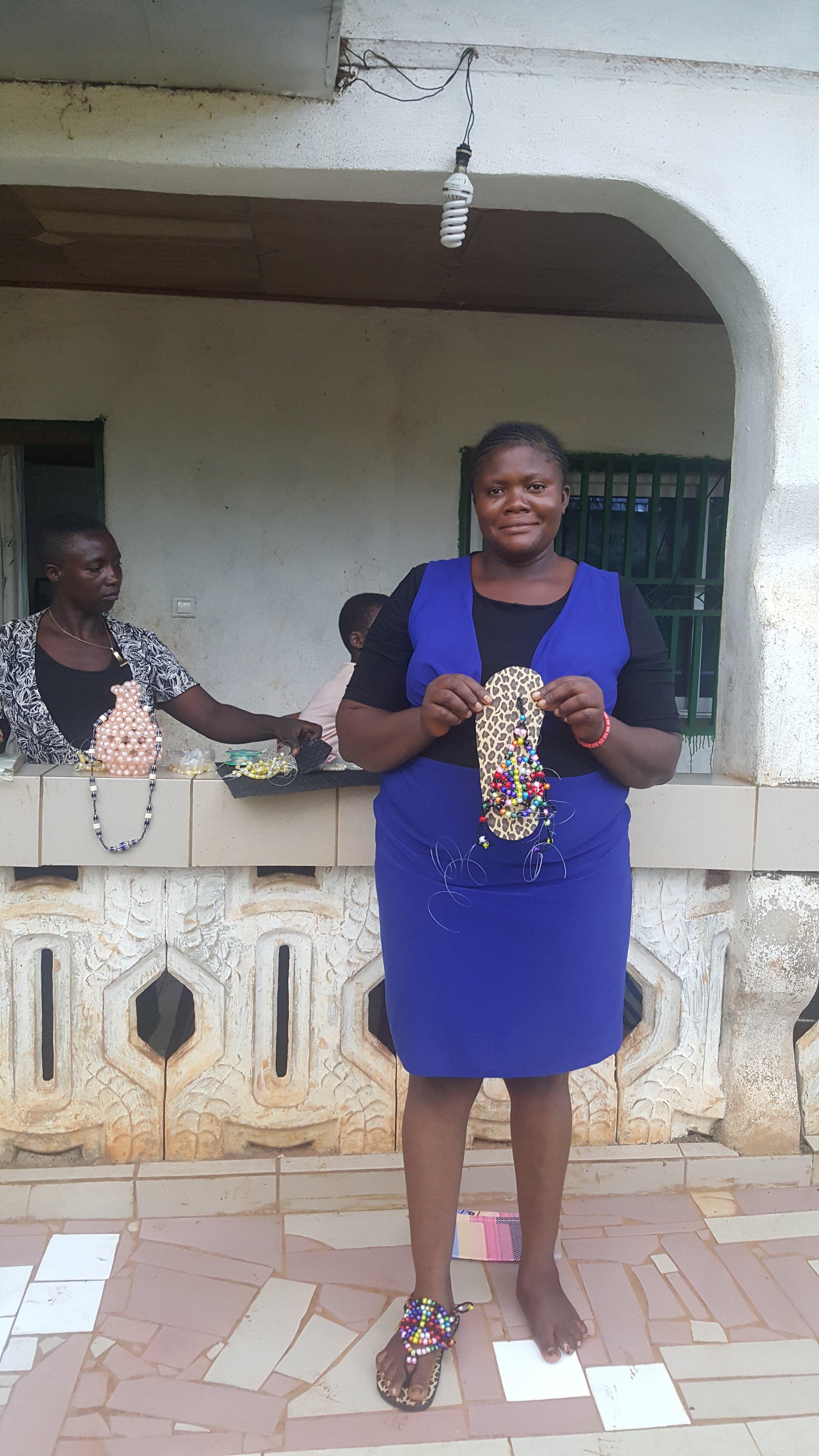 Diana, 34, Treasurer of her Group