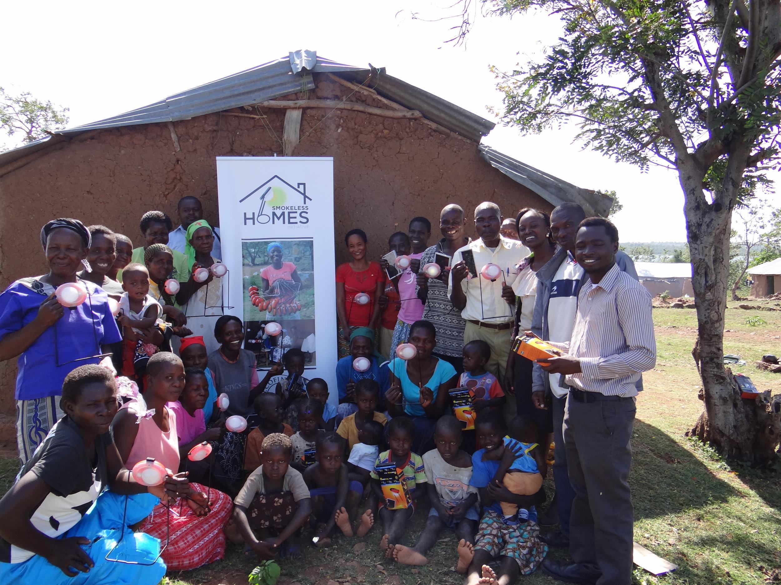 Women solar entrepreneurs in Mageta Island.JPG