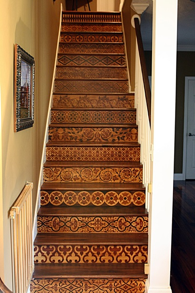Copy of Faux Inlaid wood