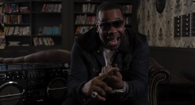 Busta Rhymes on Google Play web spot