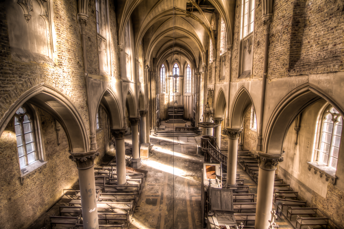 Nothing but footsteps - Church of the blue christ-2.jpg