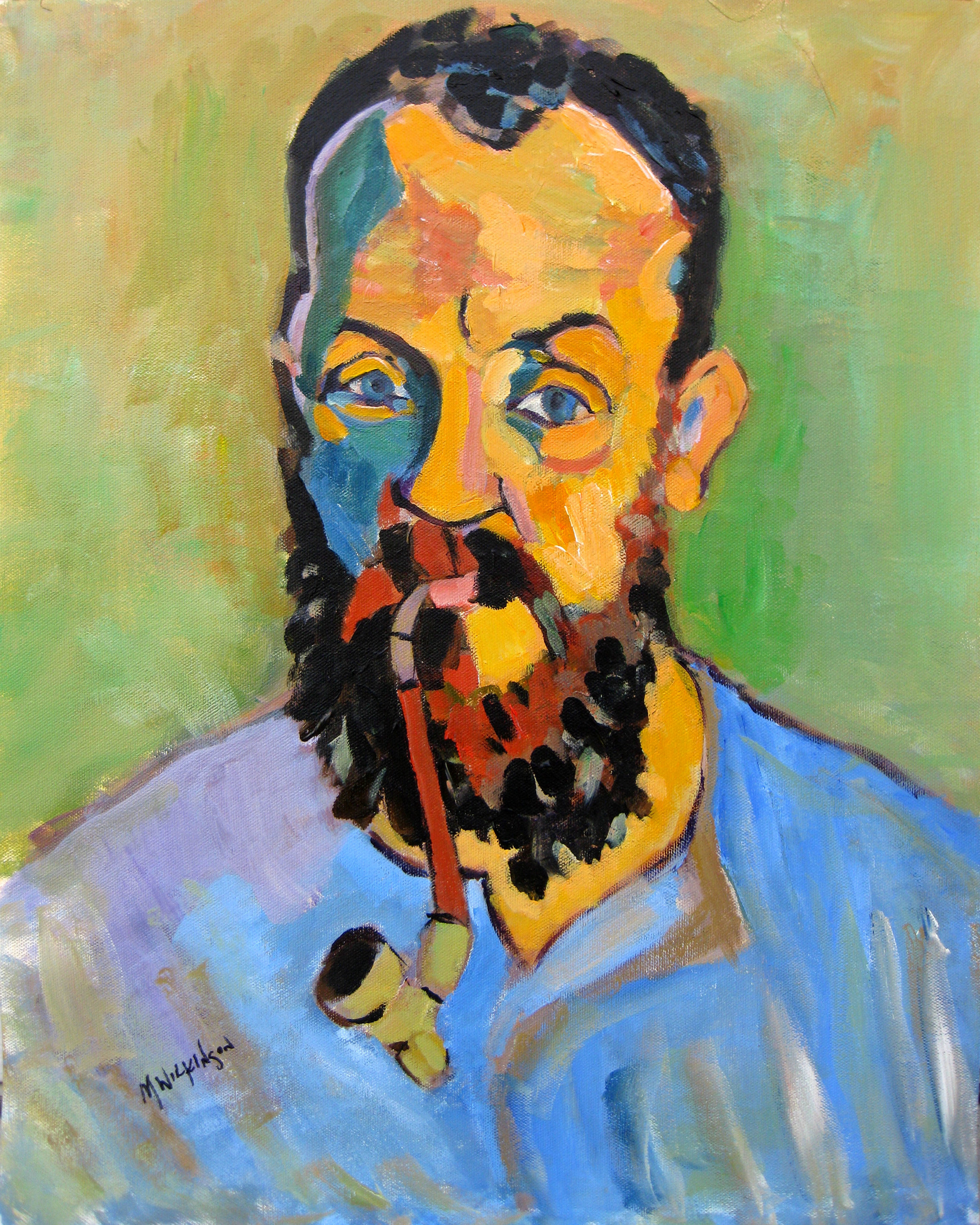 matisse self-portrait