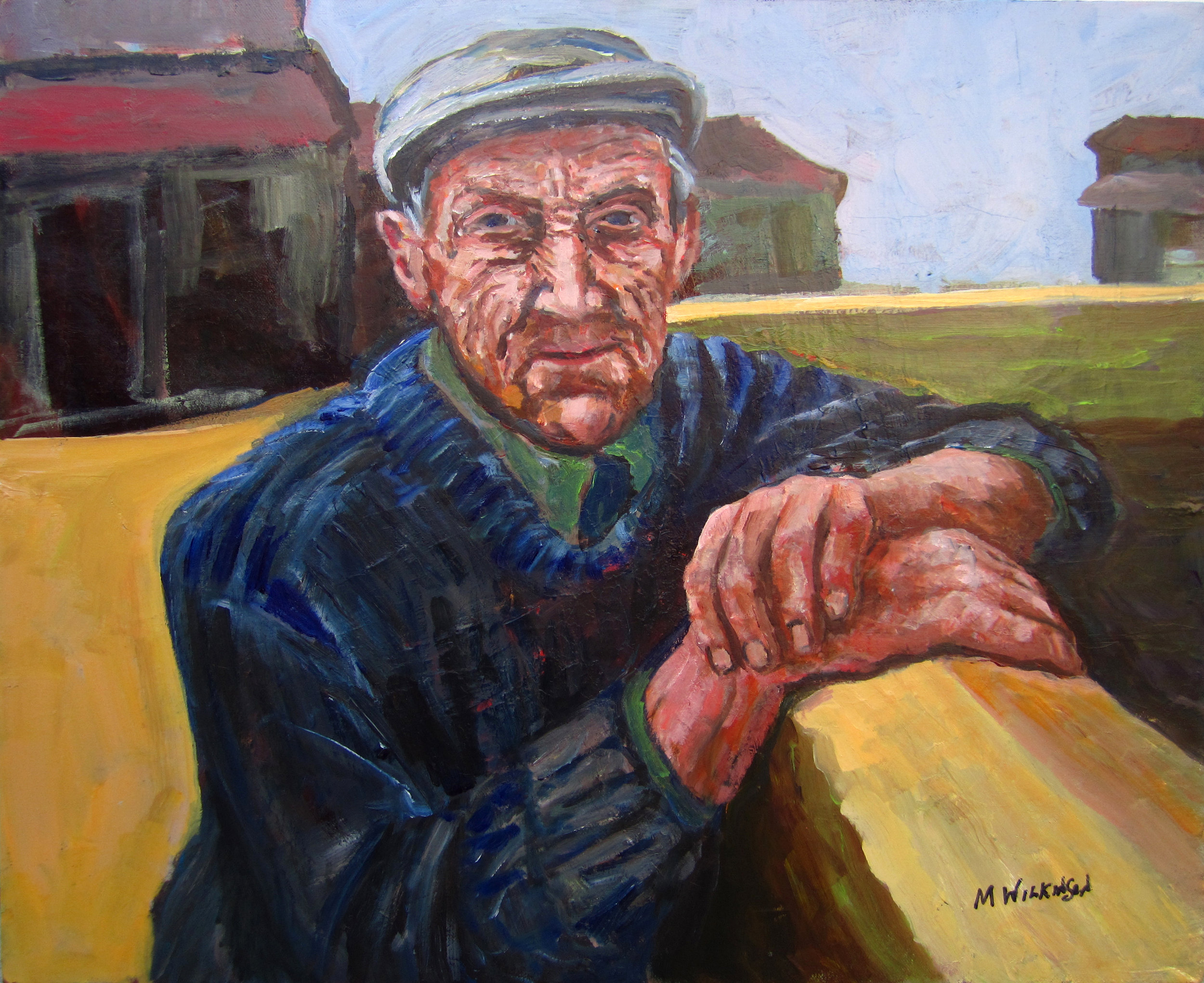 made in ireland / 2018 winner golden artist award Wilmington Art Association