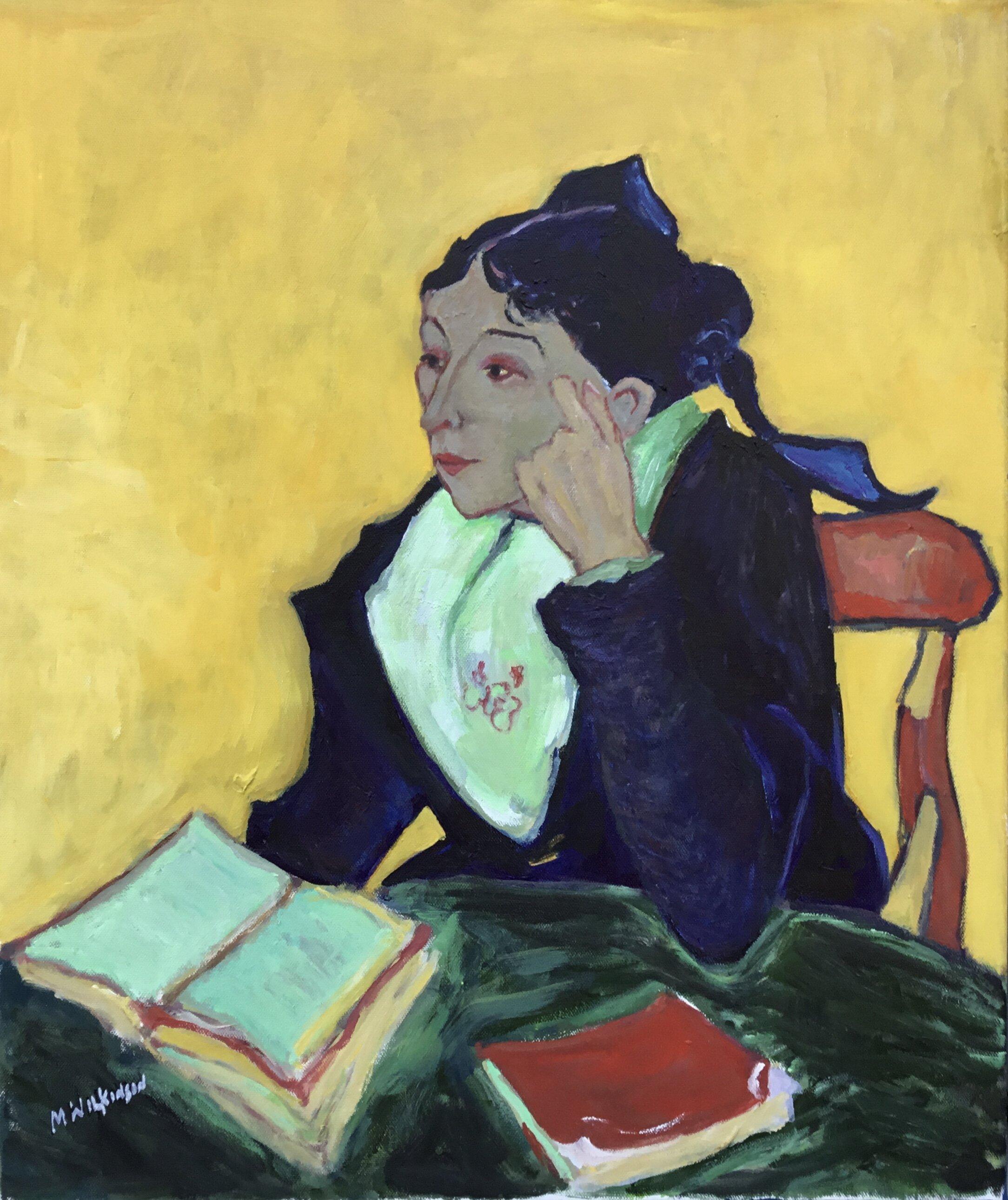 Van Gogh study / madame ginoux