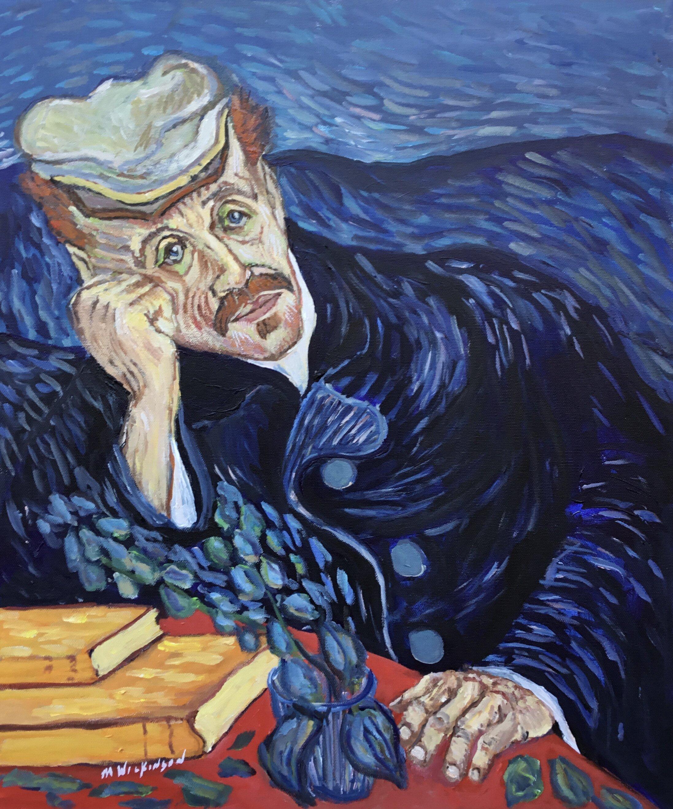 Van Gogh study / dr. gachet
