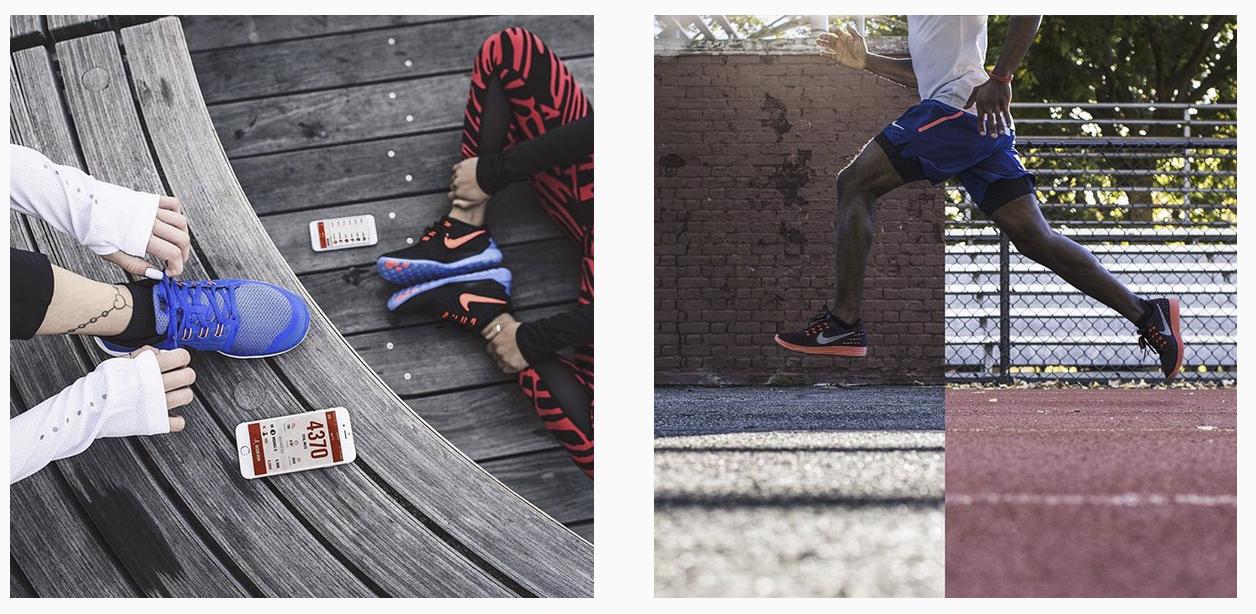 nike running image photographer nyc app shoe