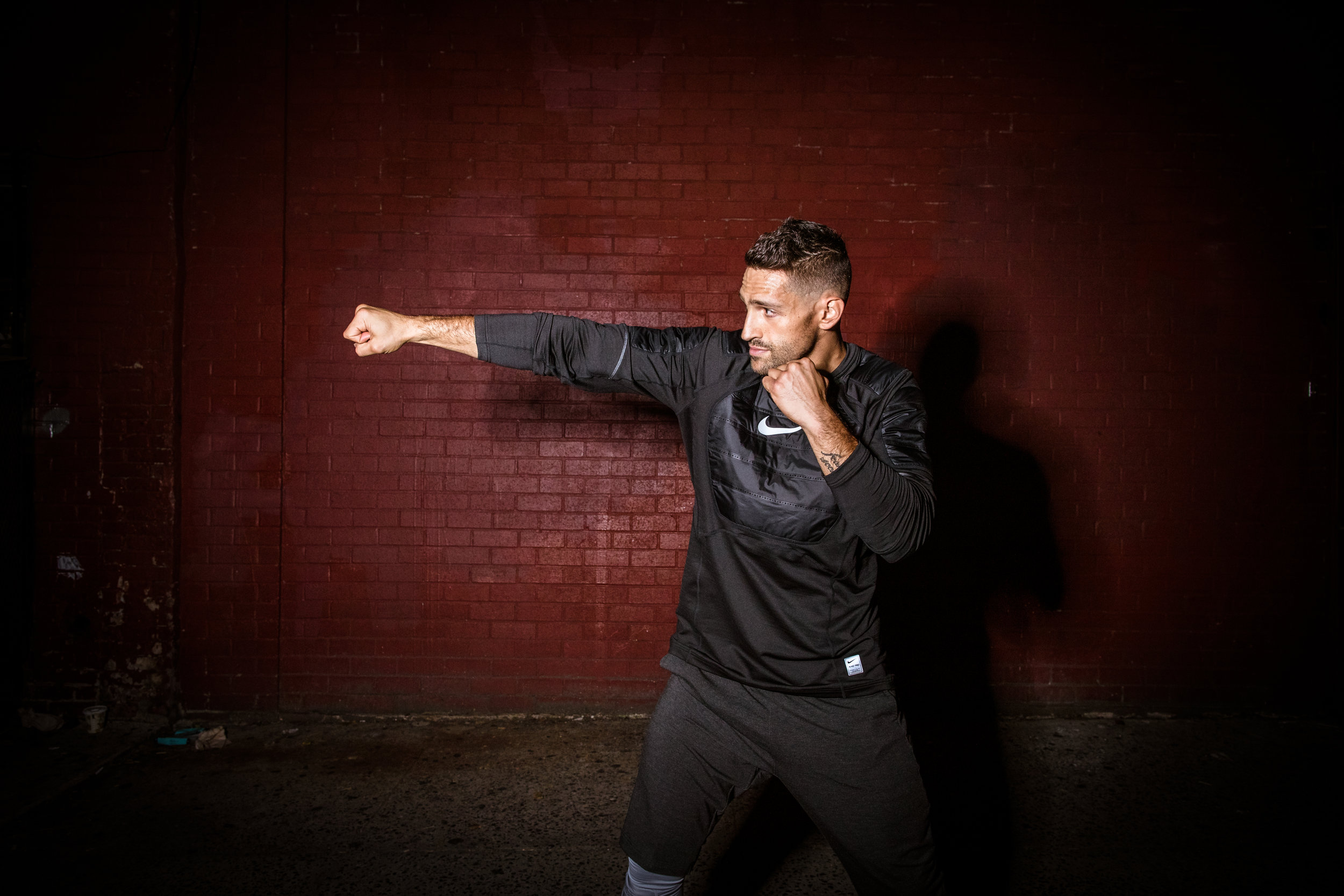 Noah Neiman nike photographer training fitness boxing NYC LA loa angeles Chicago