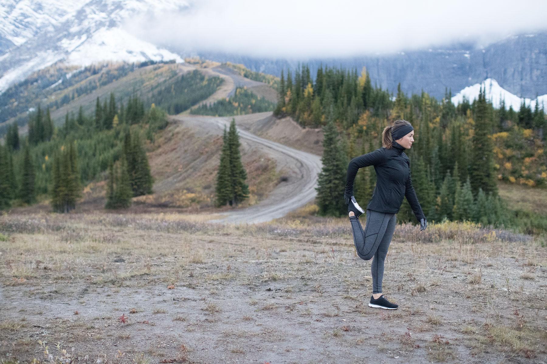 Ashley Barker Lululemon Run Cold