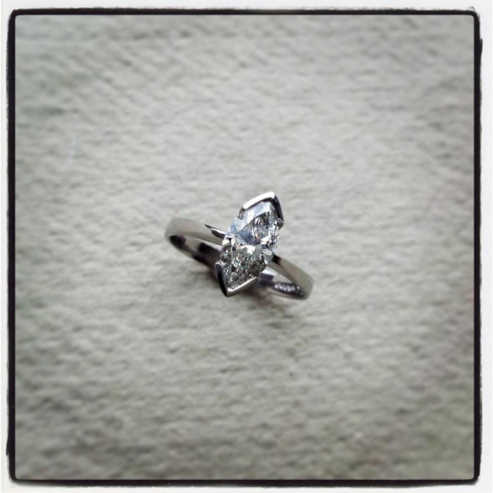 1 carat Marquise Diamond