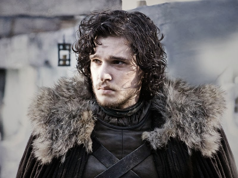 You know nothing, Jon Snow. (Or at least, that he's pretty short.)
