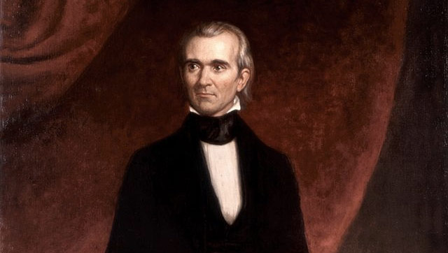 James K. Polk, one of America's best (and largely forgotten) presidents.