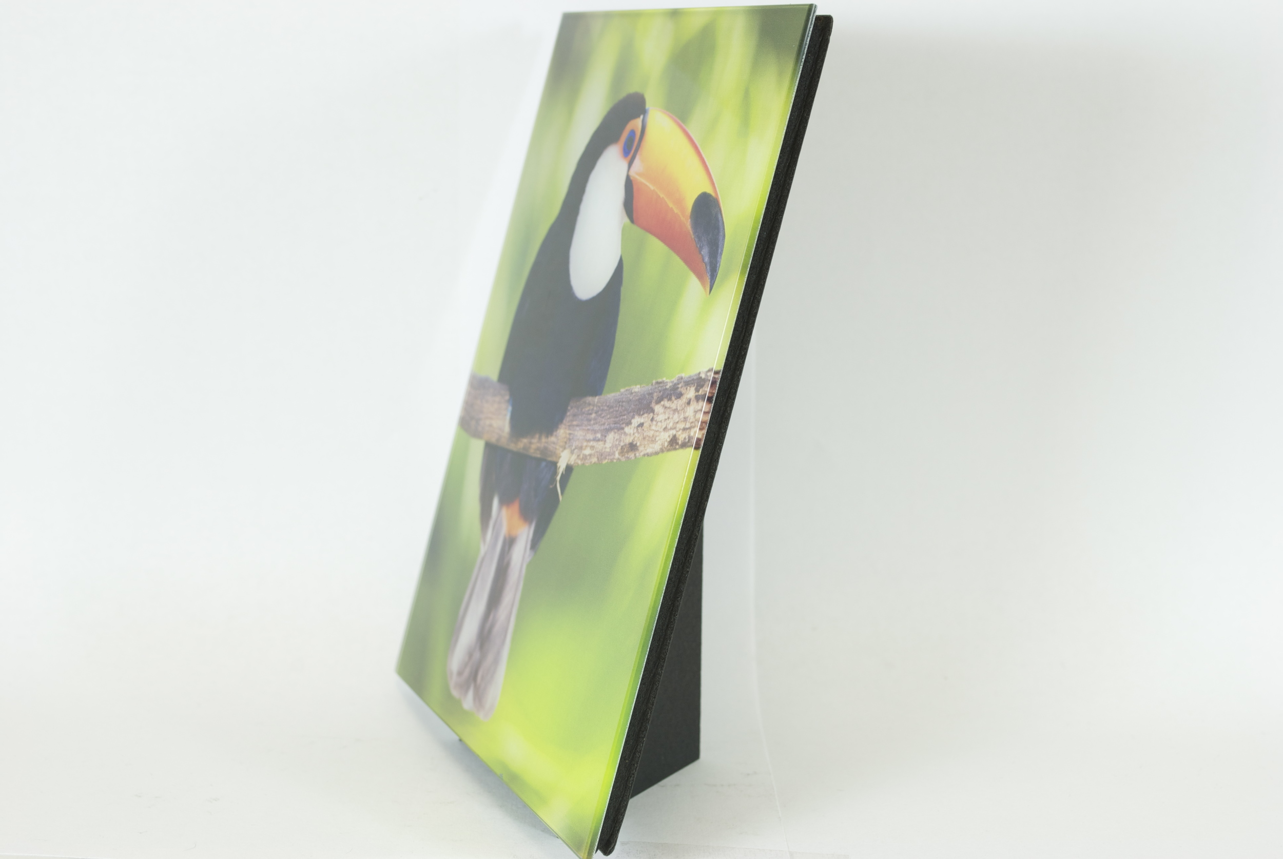 Fracture Glass Print Stand (photo courtesy Fracture's Press Release)