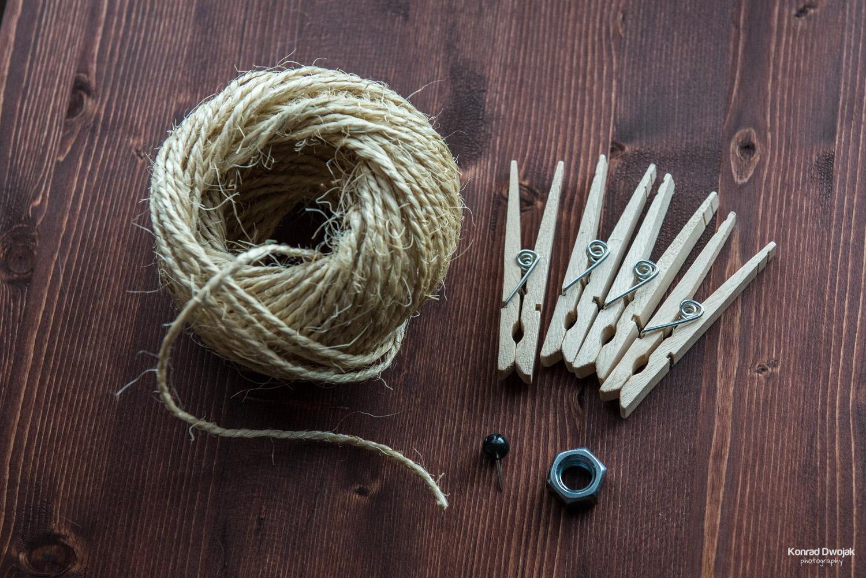 DIY Photo Rope - materials needed