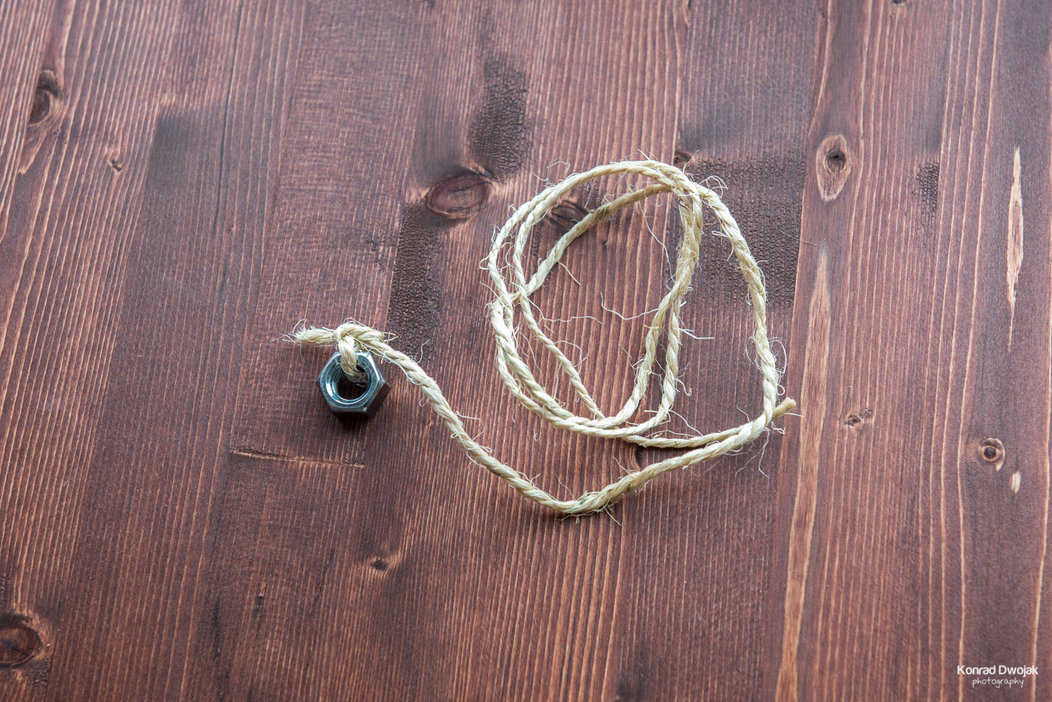 DIY Photo Rope - tie the weight