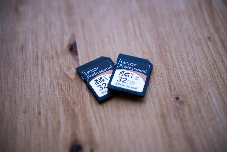Lexar SD Card error/failure