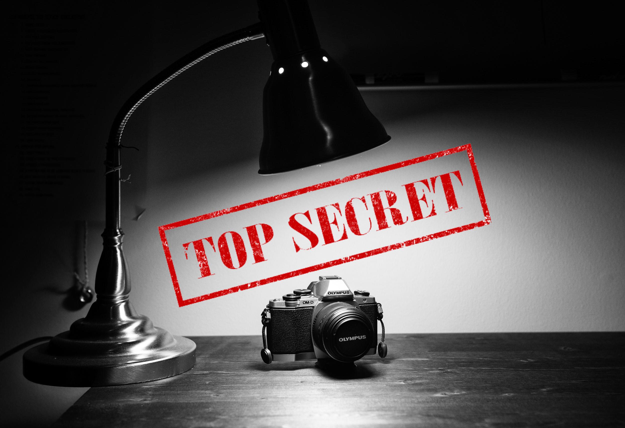 Olympus Cameras have a secret