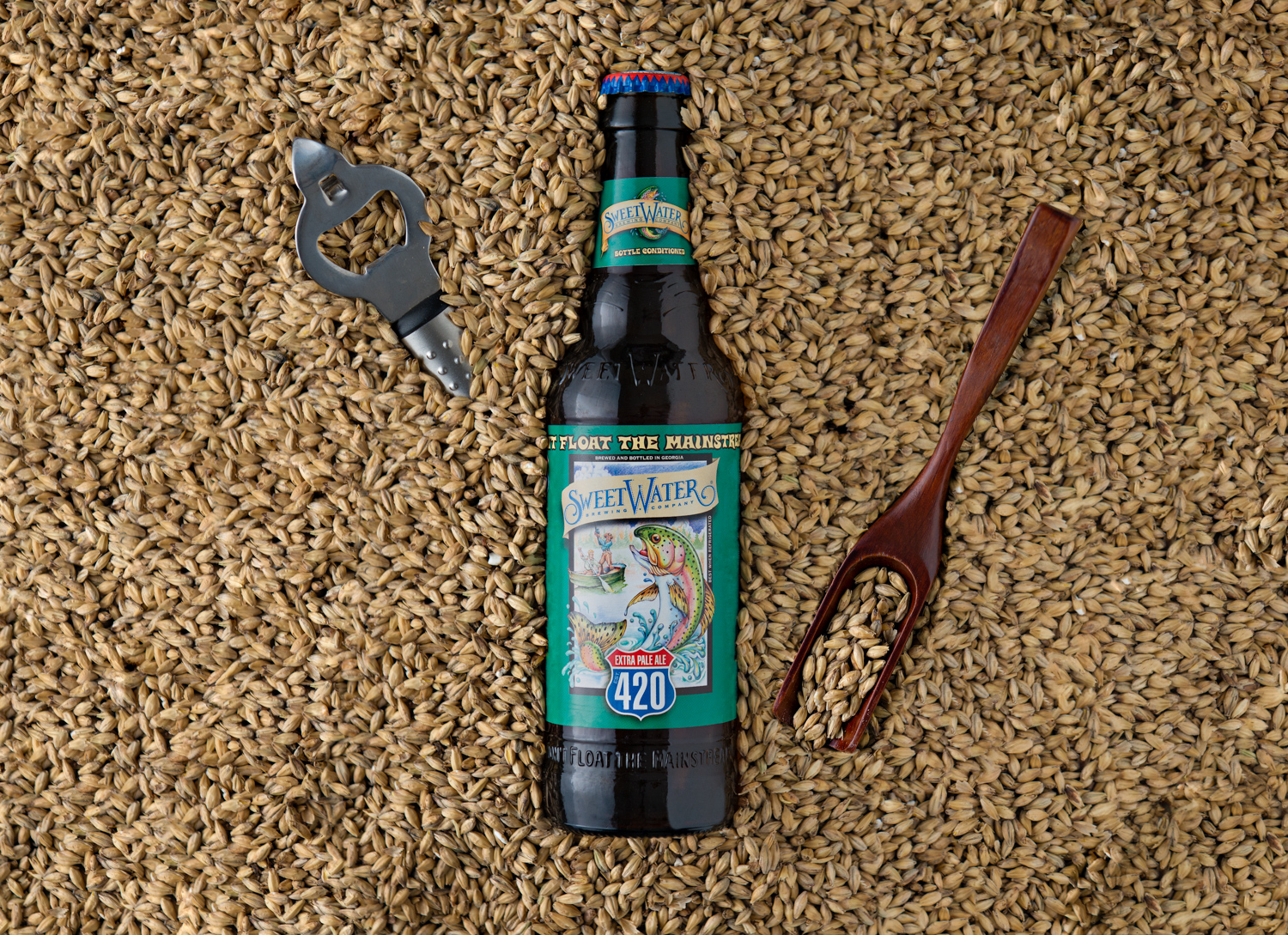 SweetWater Brew - 420 Extra Pale Ale in 2-row (brewer's malt)
