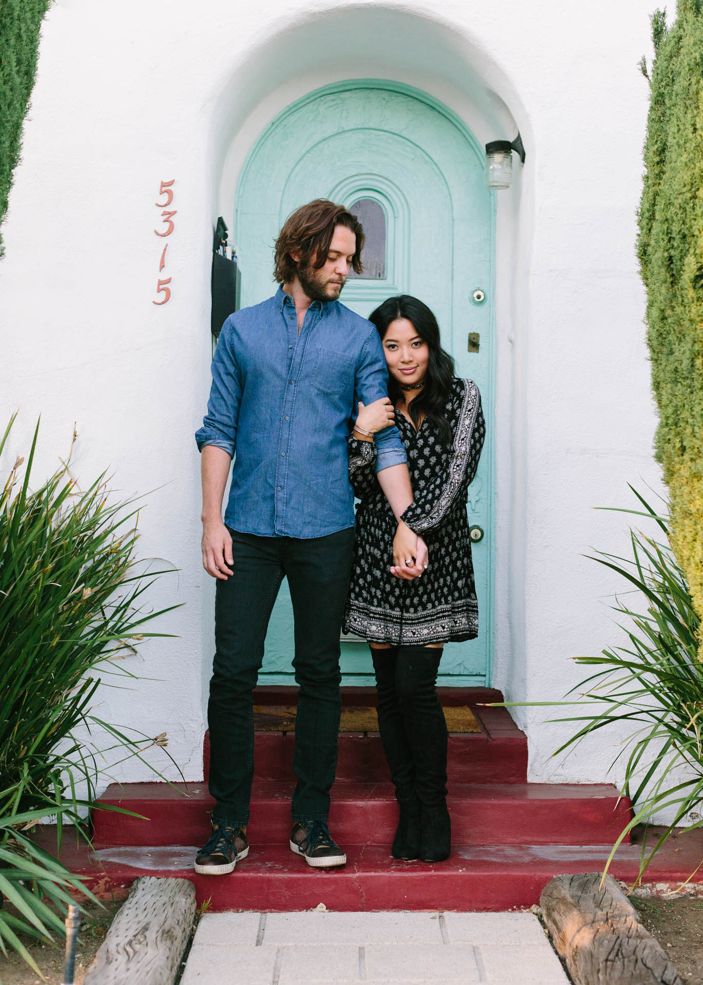 Tori Aston Los Angeles Engagement photographer engagement wedding