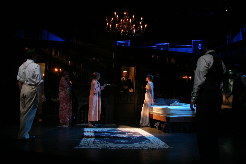 THE HIDDEN PANEL REVEALS MR. CROSBY, DEAD