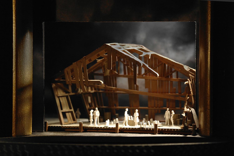 ACT I SC II - ULRIKA THE FORTUNE TELLER'S DEN