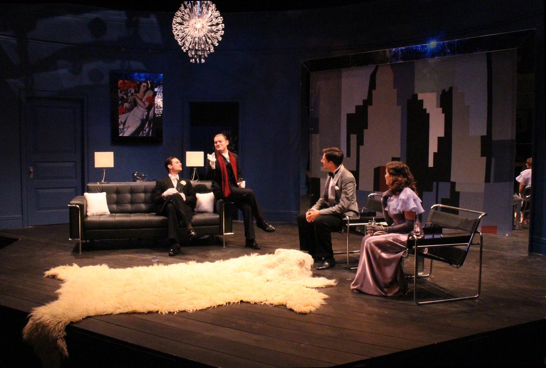 ACT III SC I - LEO AND OTTO, HENRY AND HELEN