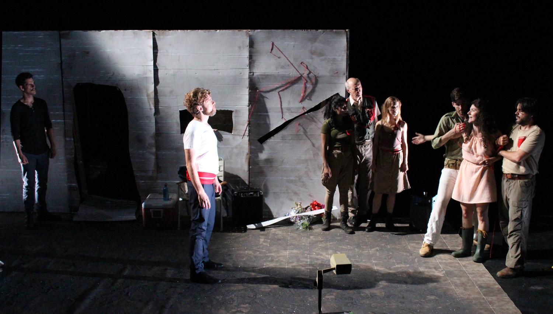 Antigone pleads for her life. No mercy.