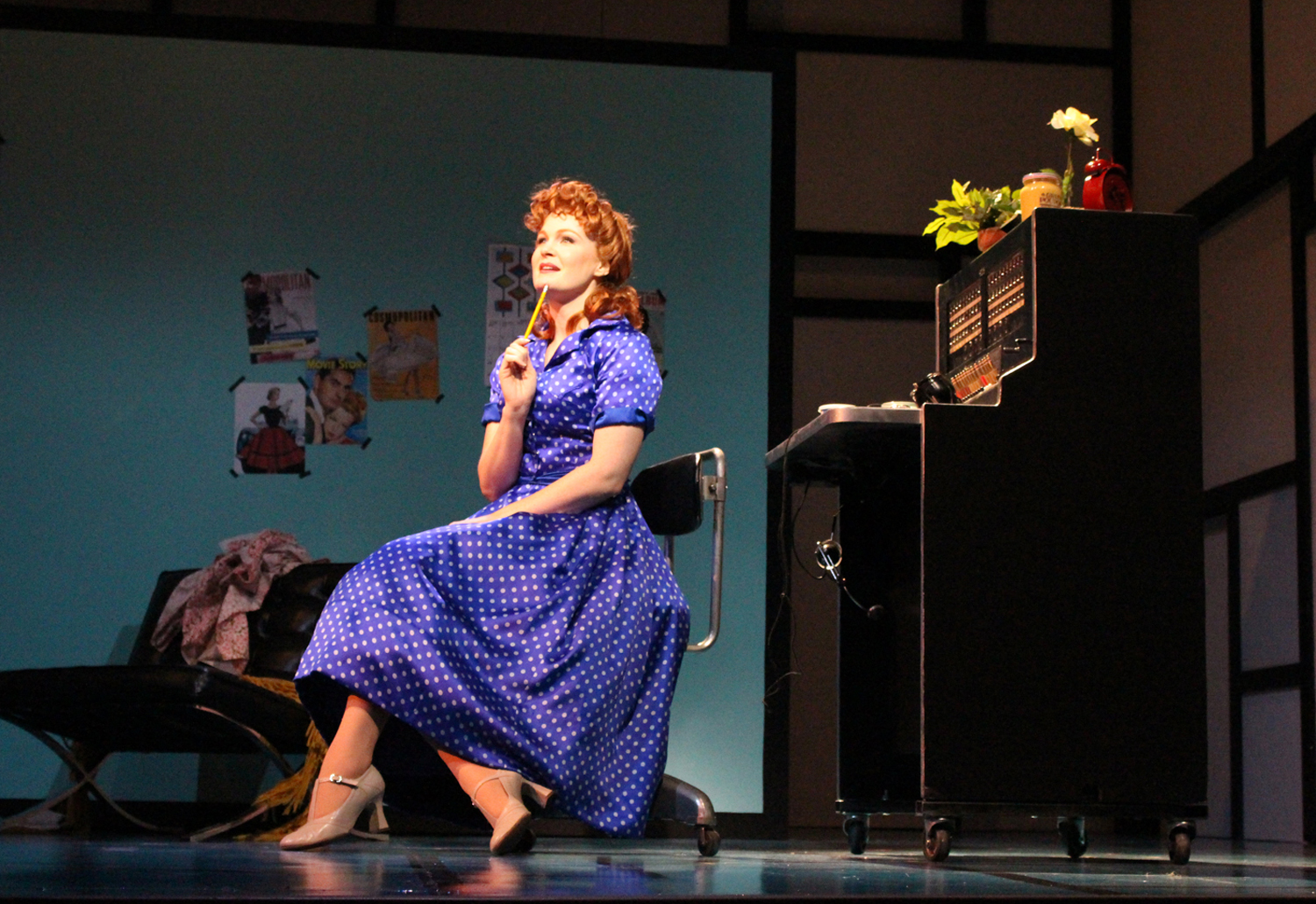 KATE BALDWIN AS ELLA PETERSON AT THE SWITCHBOARD