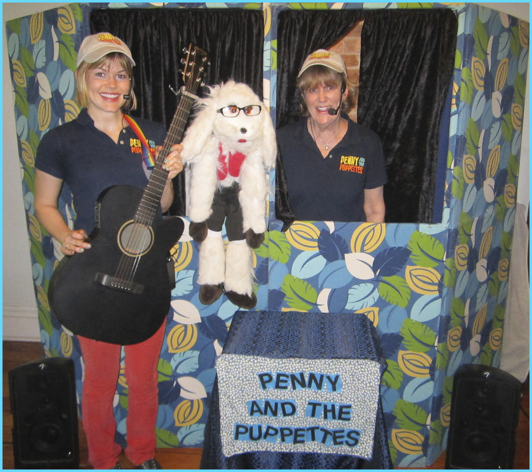 Classic Show set up with Two Performers