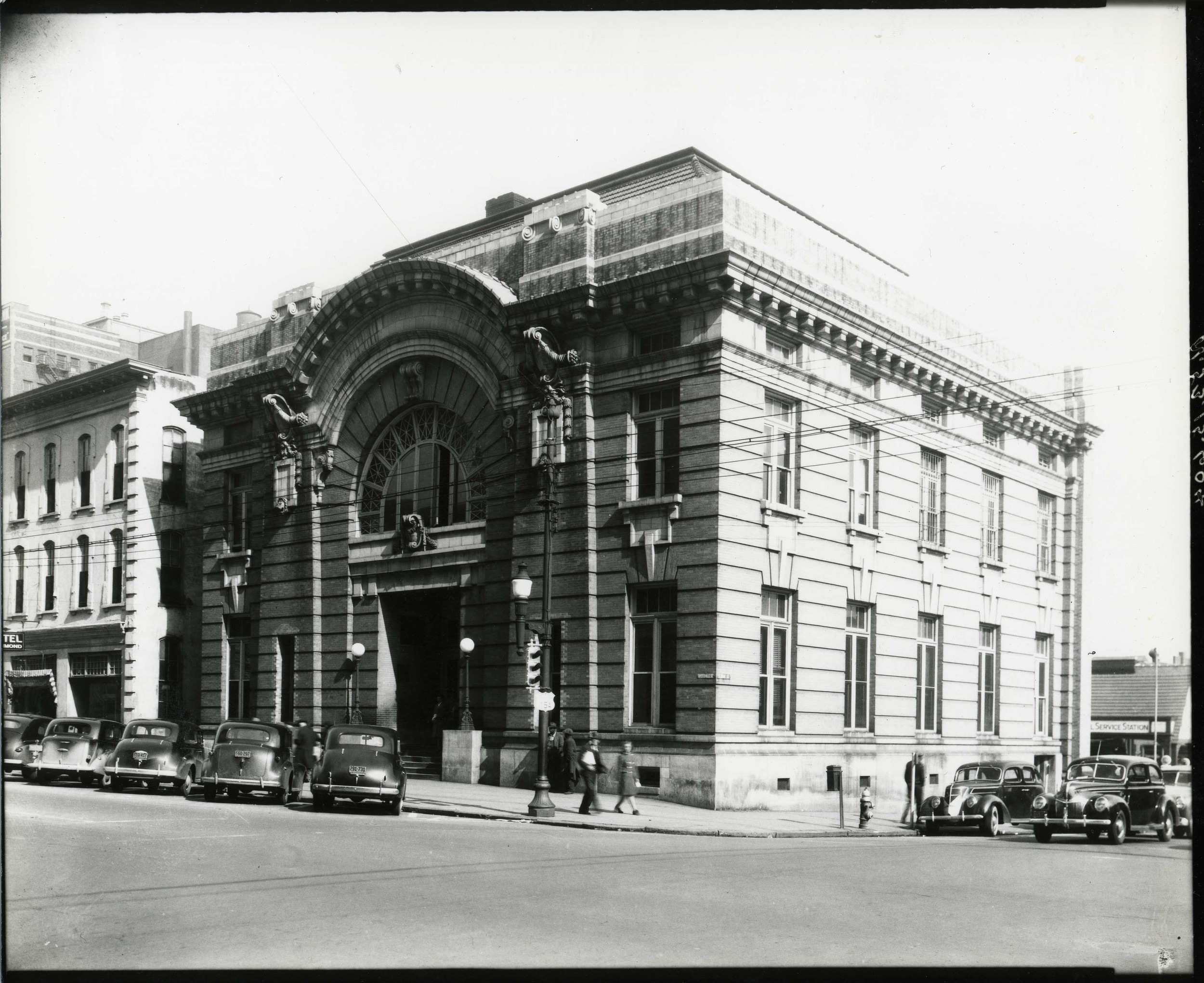 Raleigh City Hall. Photo ca. 1935.  - Photo: State Archives of North Carolina