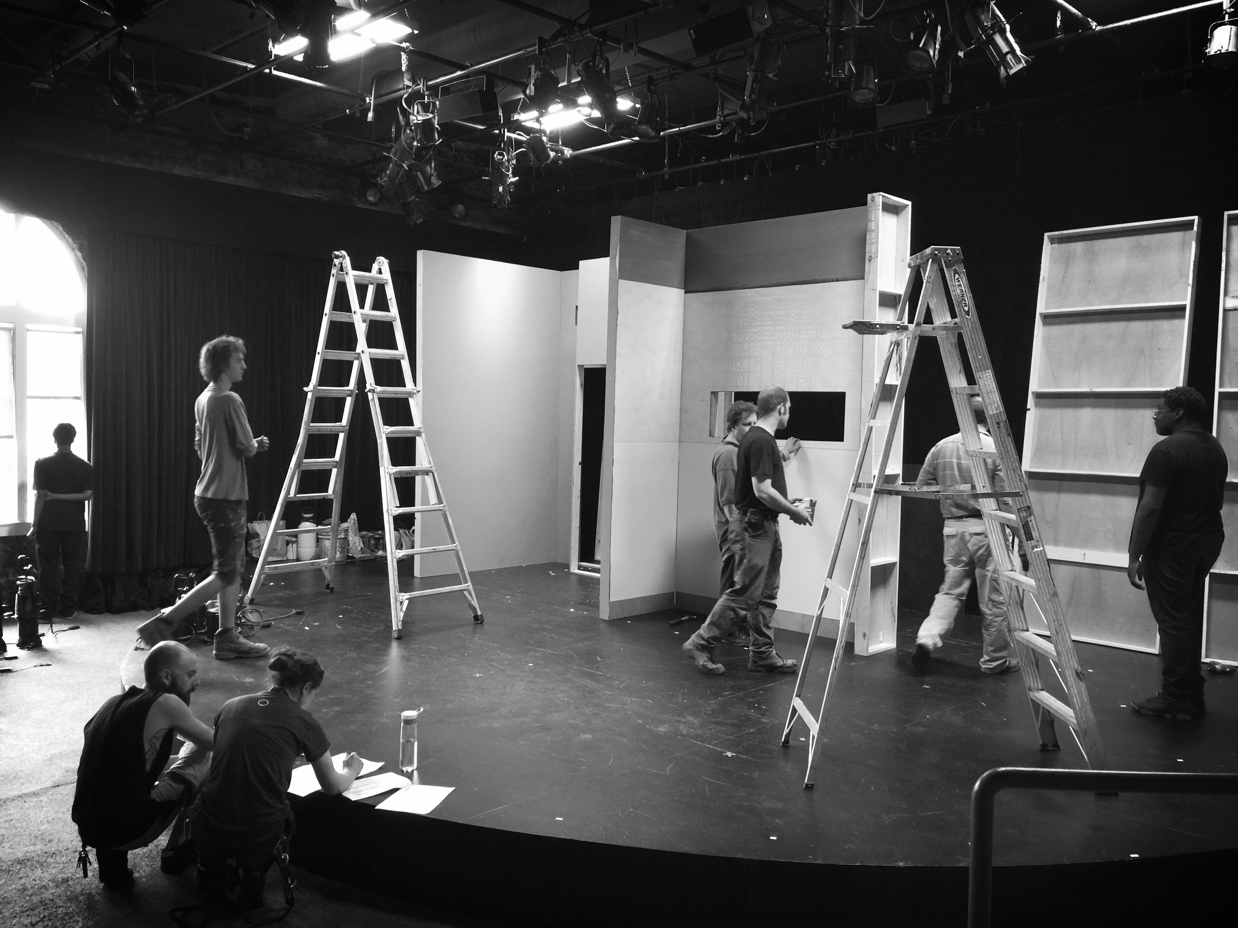 Load In Day (Set Building)