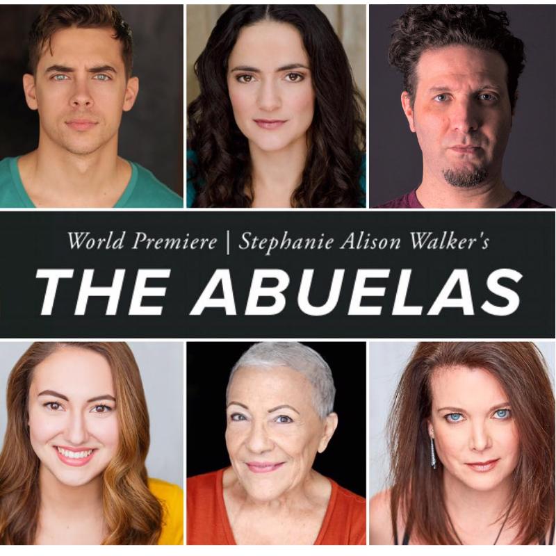 CAST : (L to R) Nate Santana, Cruz Gonzalez-Cadel, Esteban Schemberg, Ilse Zacharias, Alba Guerra, & Katie Barberi